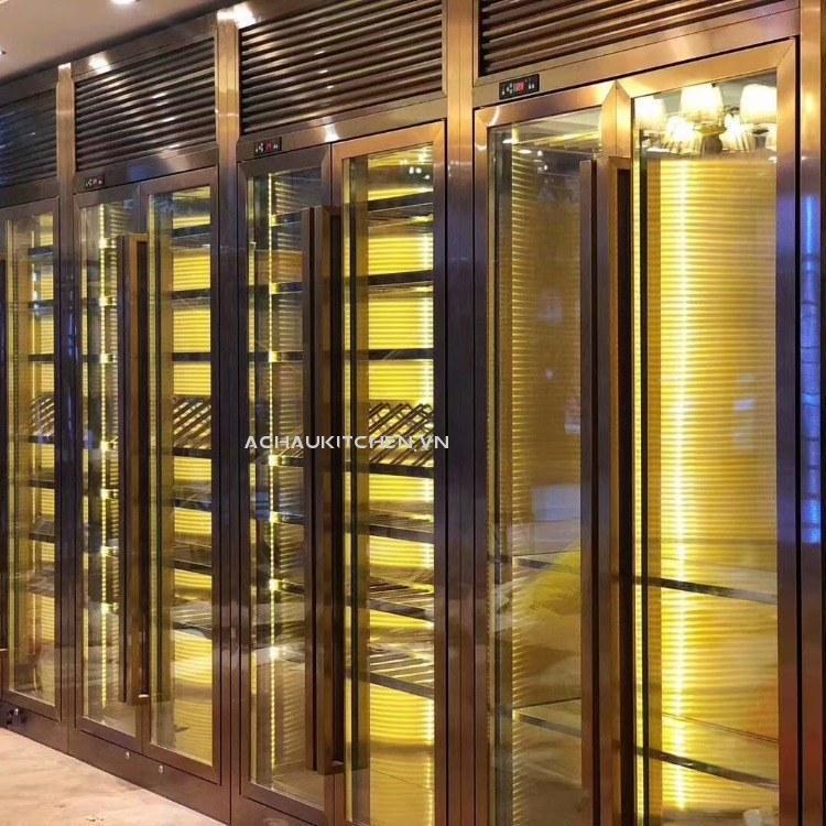 Tủ bảo quản rượu sản xuất theo kích thước yêu cầu (1)